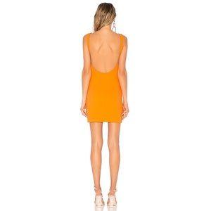 superdown Dresses - Superdown Kourtney Backless Tank Dress Orange XS